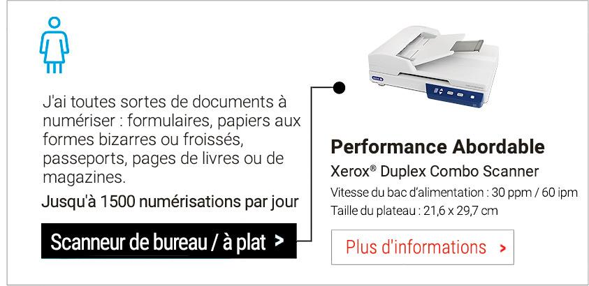 Duplex Combo Scanner
