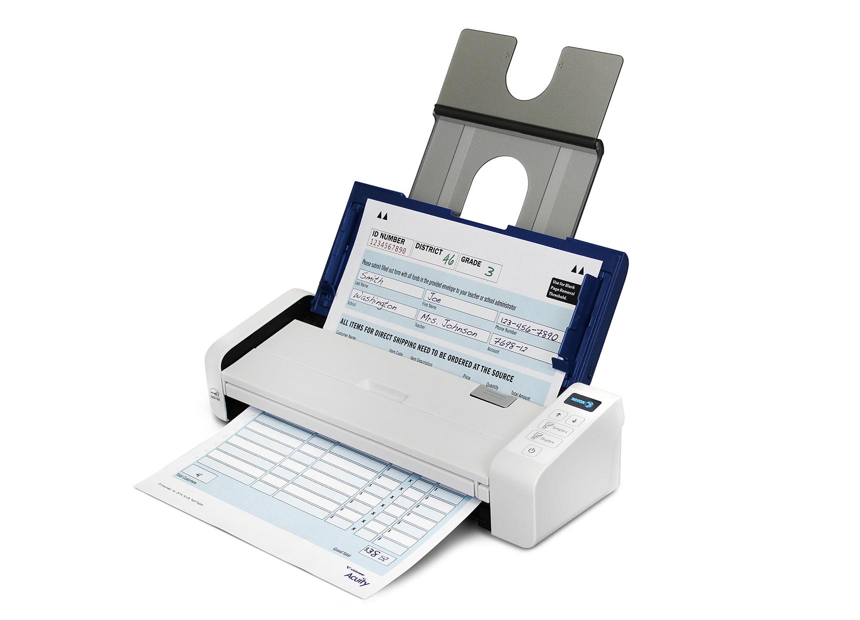 Duplex portable scanner for Duplex online