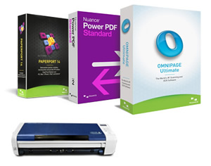 Nuance Pro Software Bundle with Free Duplex Portable Scanner