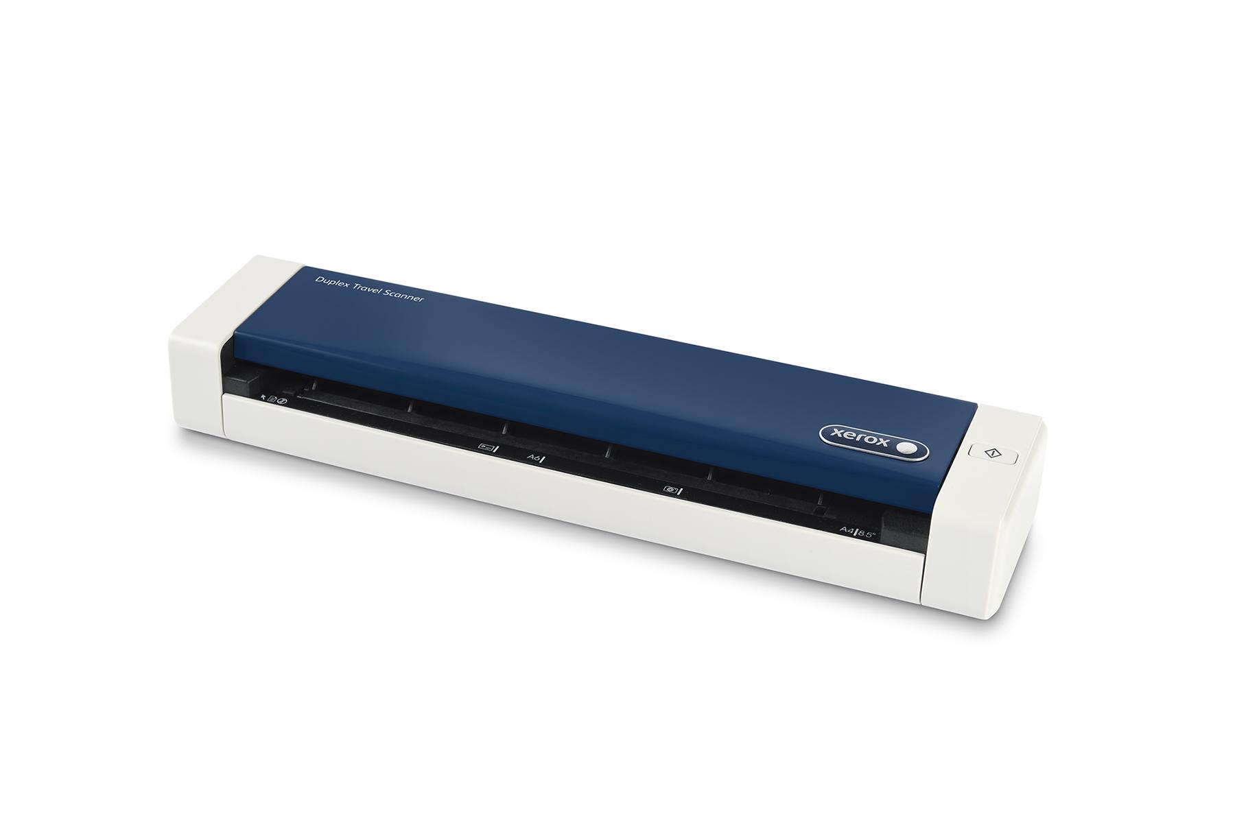 Duplex travel scanner for Duplex online